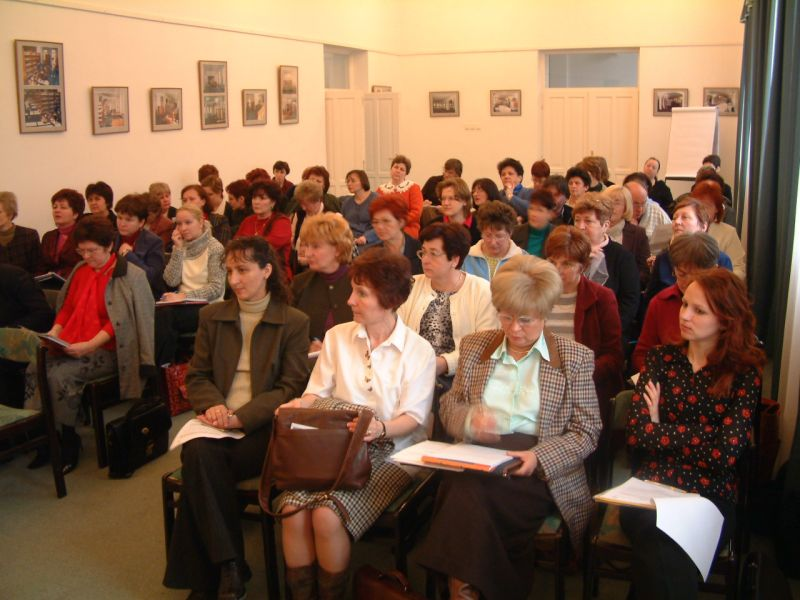 A szakmai rendezvény közönsége