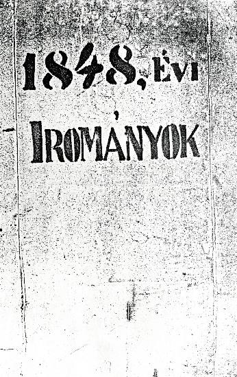 1848-1849 Szolnok megyében