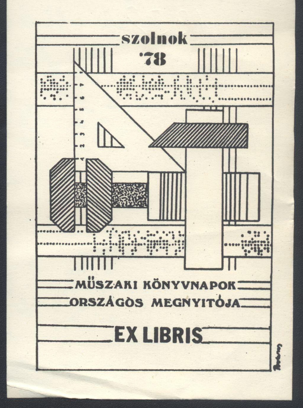 Ex libris - Műszaki Könyvnapok Országos Megnyitója