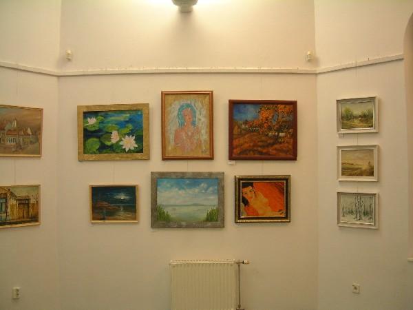 Festmények a Művészeti Szalonban