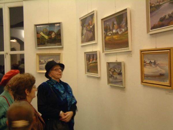 Bélyegkép a kiállítás megnyitójáról
