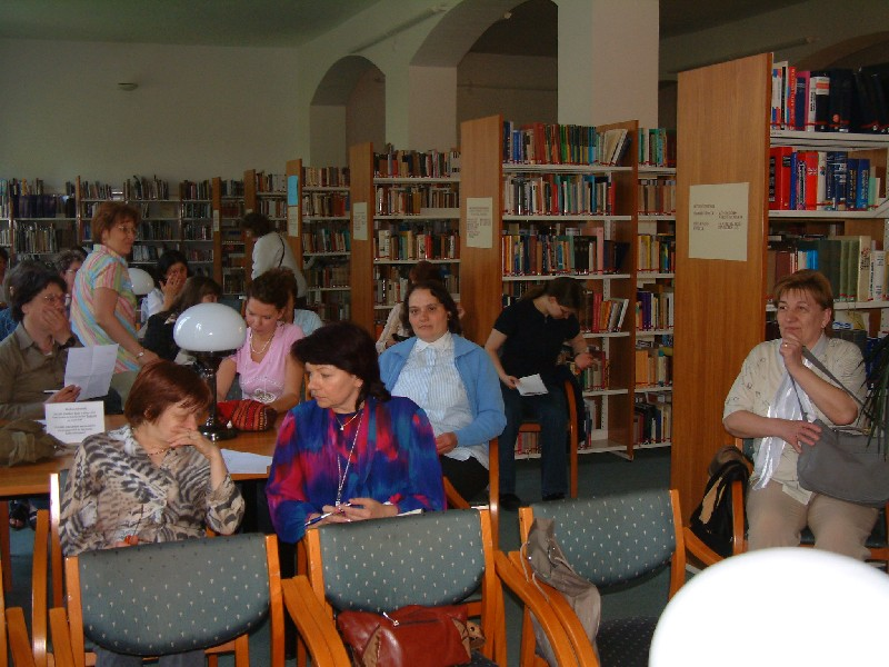 Szakmai nap könyvtáros közönsége