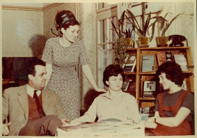 Mezőtúri könyvtár 1964