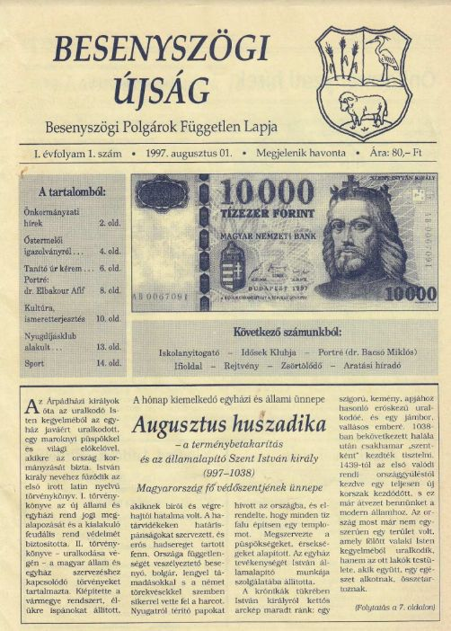 Besenyszögi Újság
