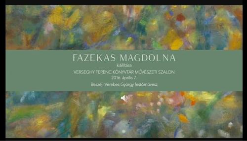 Fazekas Magdolna 2016
