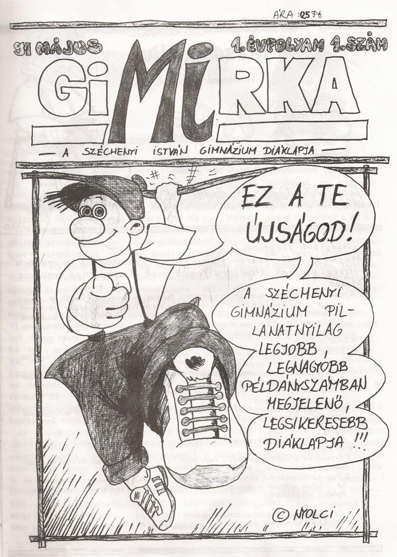 Gimirka címlapja