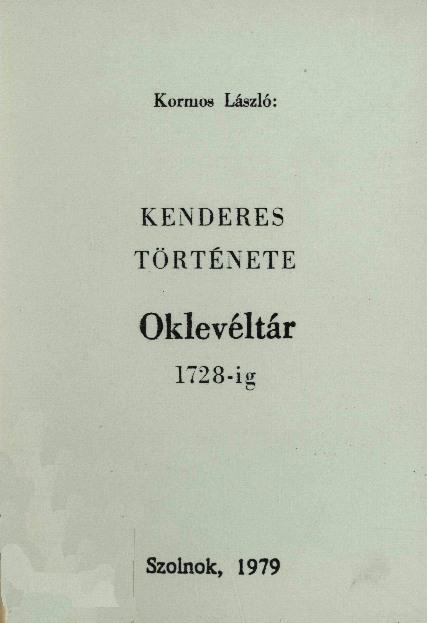 Kenderes 1979