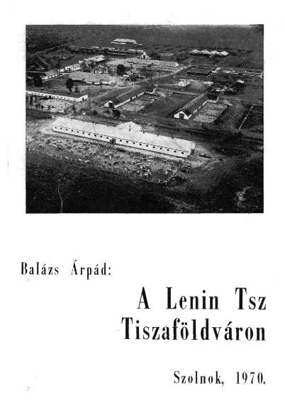 Lenin tsz címlapja
