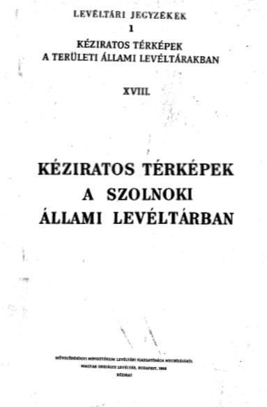 Levéltári füzetek 1
