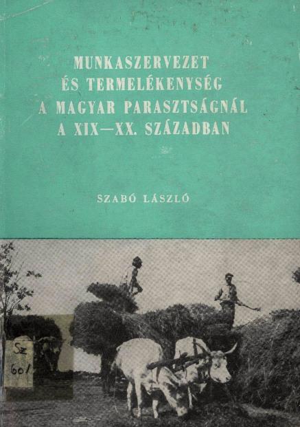 Szabó László könyvének címlapja