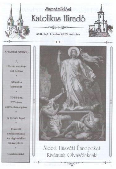 Szentmiklósi Katolikus Híradó