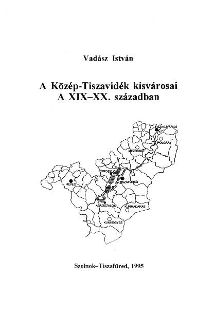 Vadász István könyvének borítója