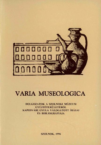 Varia museologica 1996