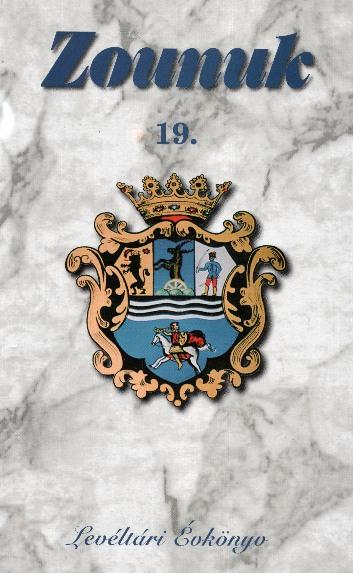Zounuk 19 borítója