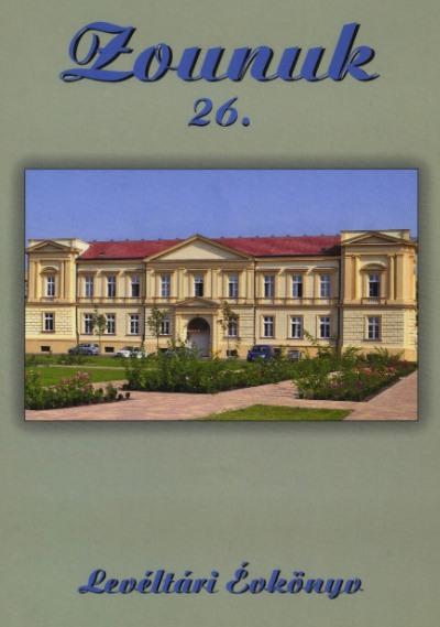 Zounuk 26 borítója